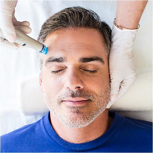 HydraFacial Behandlung für den Mann
